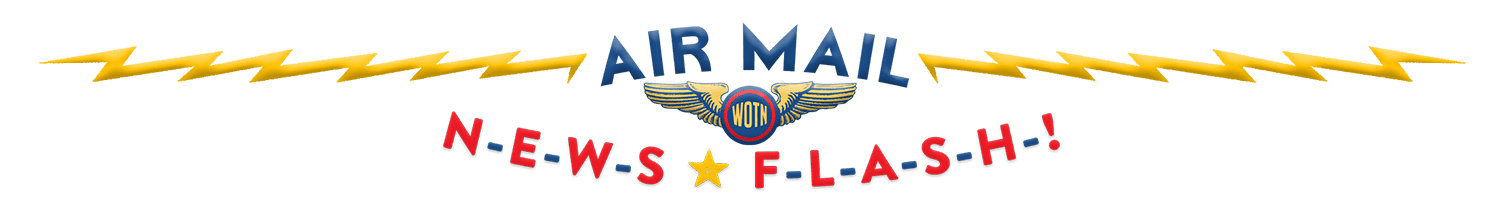 Wings of the North Air Mail Newsletter Header