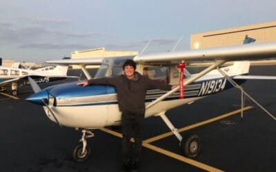 Delivery of Sweepstakes Cessna