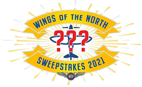 2021 Wings of the North Sweepstakes mystery airplane