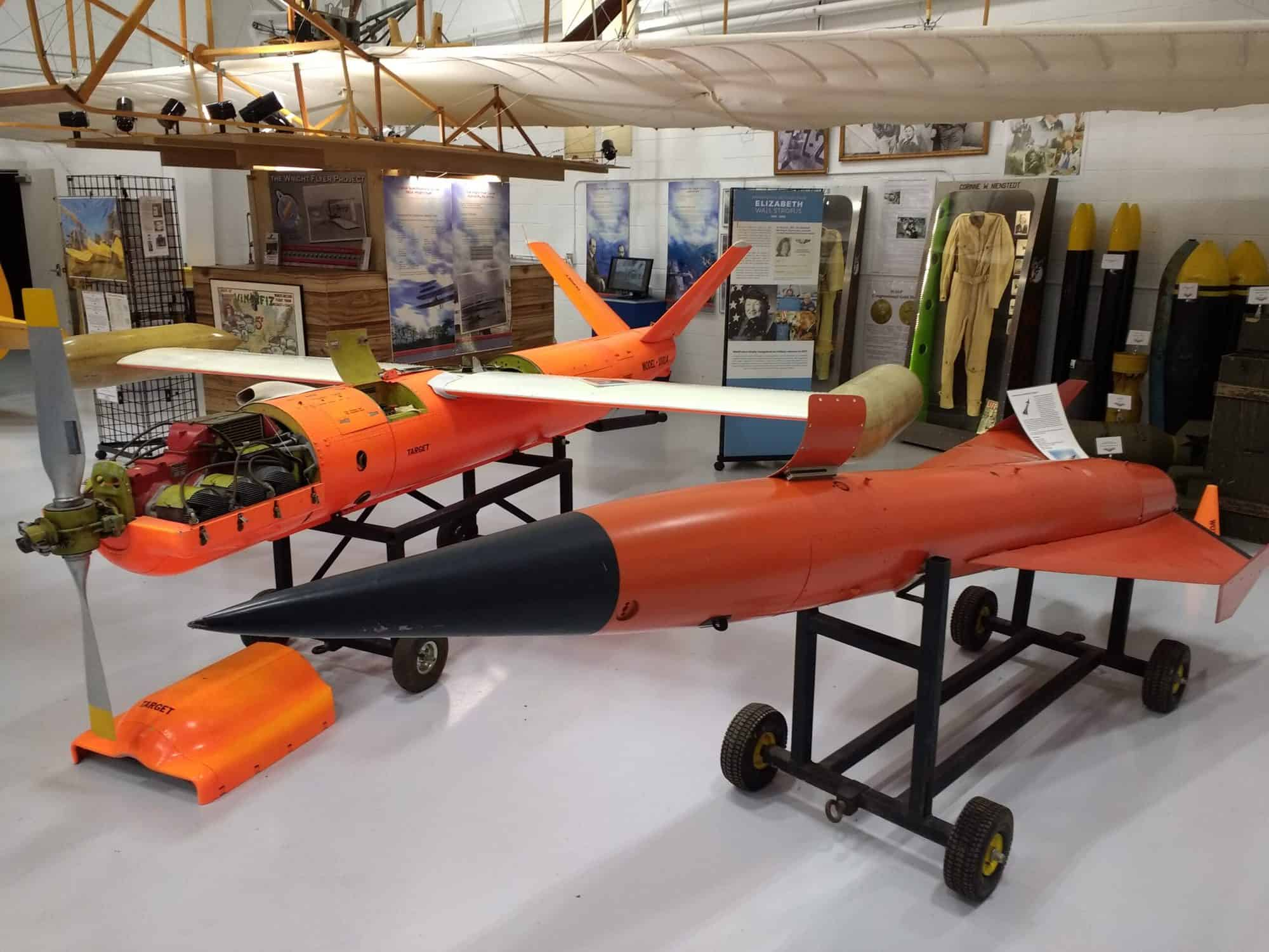 Newly acquired Beechcraft target drones Wings of the North Museum
