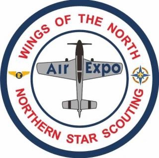 Northern Star Scouting badge earned at Wings of the North AirExpo