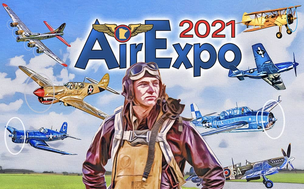 Wings of the North AirExpo 2021 Aircraft July 24 and July 25 Flying Cloud Airport